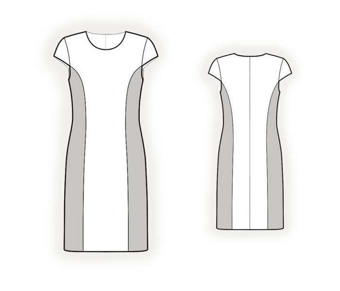 Выкройки классических платьев с