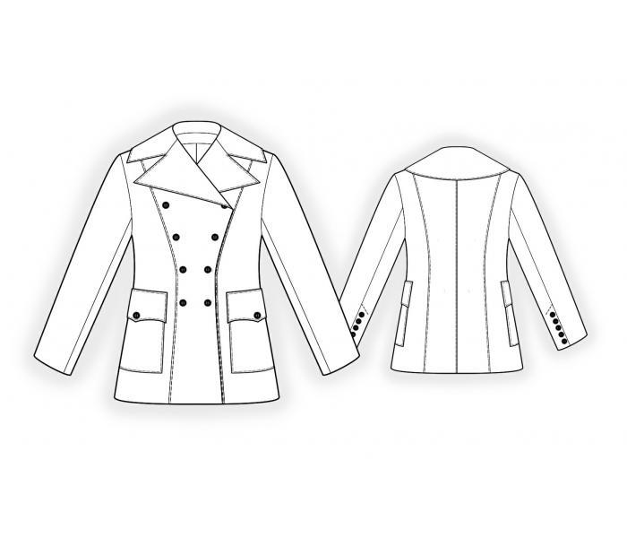 Выкройки итальянских пальто