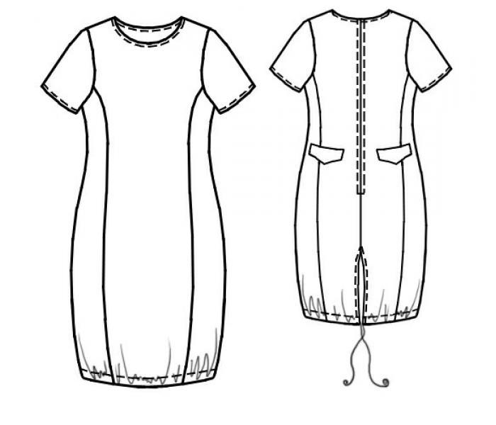 Моделировать выкройки летних платьев, кроить. шоколадные платья в пол