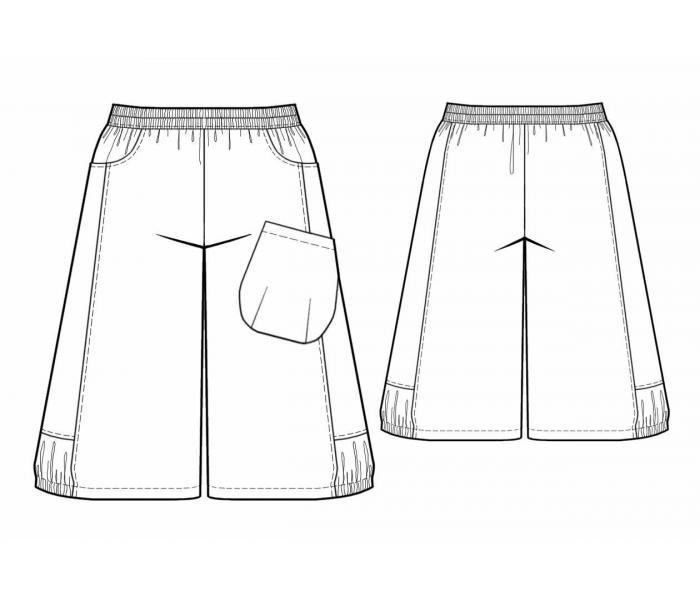 Сшить юбка брюки разных видов 92