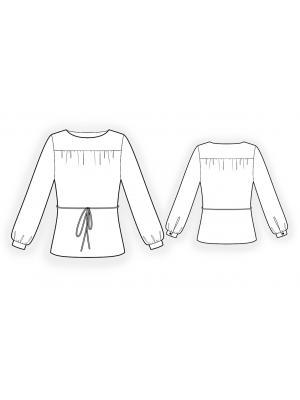 Модели блузки с выкройкой