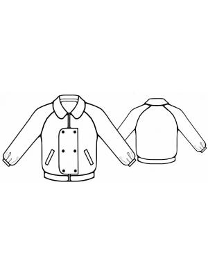 выкройка мужской куртки - Сумки