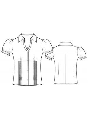 Выкройка Блузки Для Распечатки